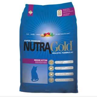 NutraGold Holistic Indoor Kitten 3kg - $30.00 / Free Delivery with any 2 bags purchase