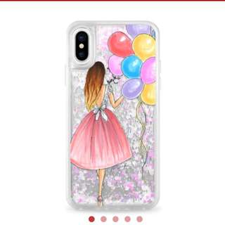 Casetify iPhone X casing Unicorn Pastels