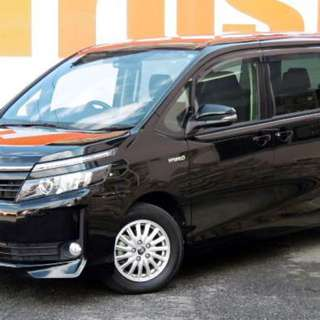 TOYOTA VOXY HYBRID V 售218000「已包括首次登記稅」  Month / Year:2014  Color:BLACK  Mileage:88,830 km Displacement:1.8L  Steering:Right  Transmission:AT  Fuel:Hybrid  Drive:2WD  Doors:5D  Repaired:None  Chassis No:ZWR80-007****  Model code:ZWR80G