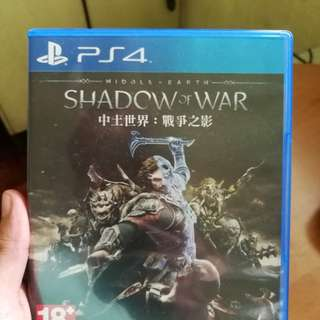 PS4 Game - Shadow of War