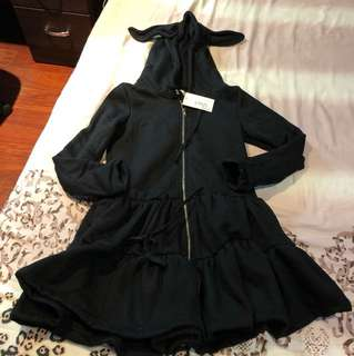 全新內刷毛洋裝,也可當外套