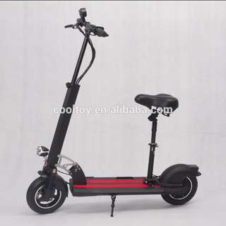 HOT 48v 15.6ah with suspensionNEW EXTRA LARGE BOARD WITH Handle Electric scooter Escooter