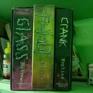 Crank Trilogy by Ellen Hopkins