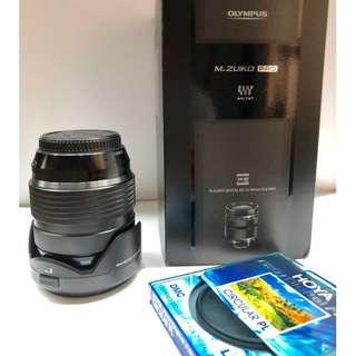 Olympus 12-40mm f2.8 M. Zuiko Digital ED PRO Lens  with Hoya Pro1D digital polarising filter