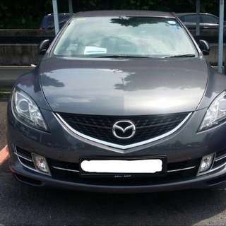 Mazda 6 for 6 mths lease