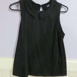 Black Collared Top from Dotti S XS