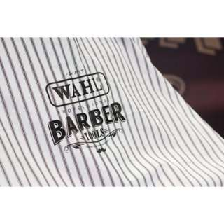 WAHL Professional Stripe Cutting Cape / Barber Cloth (Clearance Sale)