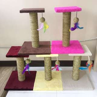 In stock - Cat Scratch Climbing Stand / Pole / Post - 5 Colour