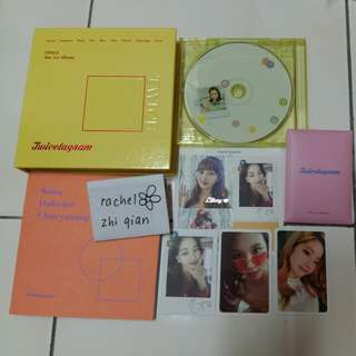 [READY STOCK] TWICE TWICESTAGRAM UNSEALED FULL SET