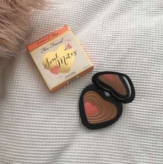 Too Faced Soul Mates Bronzer/Blush