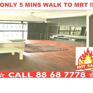 🌟🌟 BEST Value Spacious Corner 4-Room HDB Apartment NEAR MRT For SALE @ WOODLANDS !! 🌟🌟 Yishun