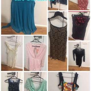 Dresses 6-12 less than $10