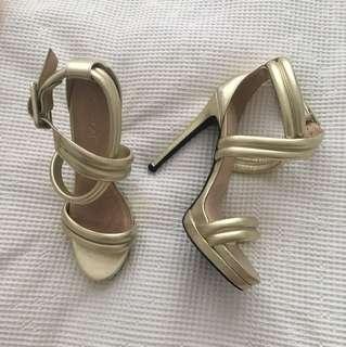 Kookai Gold Heels