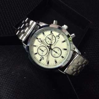 Imported Classy Stainless Steel Watch (Brand New)