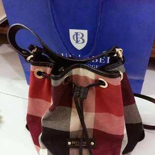 Blue Label Crestbridge Bucket Bag (Original)