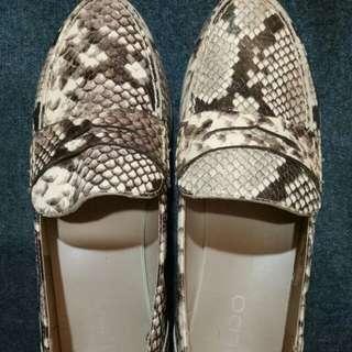 ALDO蛇紋鬆糕鞋