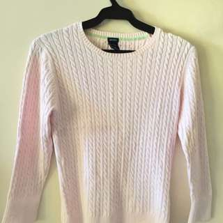 Gap pull over blouse in pink blush