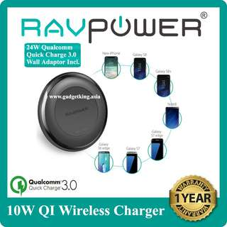 10W QI Wireless Charger for the latest Samsungs and iPhones