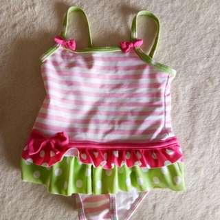 Swimming suit girl 3-6 months