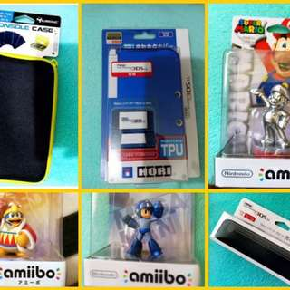 nintendo new 3ds/XL accessories