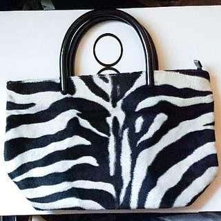 Furry Handbag