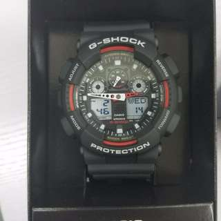Casio G-Shock Analog-Digital GA-100-1A4