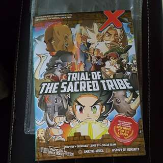 X Venture Trial of the Sacred Tribe