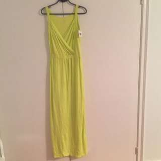 women's green strapless dress