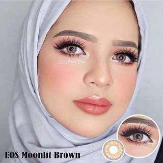 Softlens eos moonlit brown