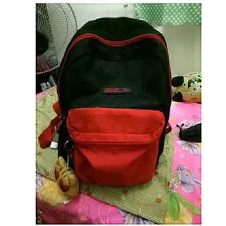 Hawk Backpack (Red&Black)