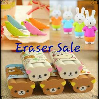 [Fast Deal Clearance] Eraser For Sale