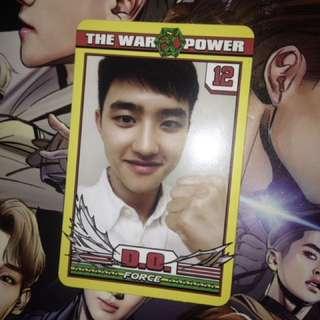 The War Power Photocard Kyungsoo Kversion