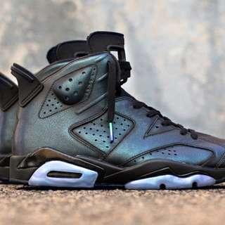 Jordan 6s gotta shine