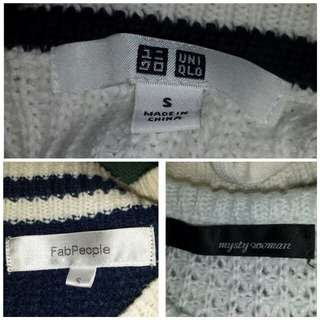 SALE! Japan Brand Knit Sweaters (All for P500)