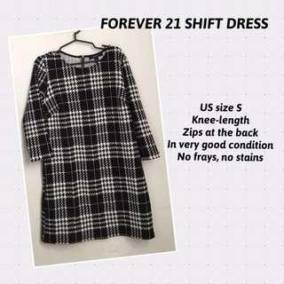 FOREVER 21 SHIFT DRESS