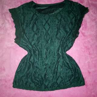 TOPS (LACE GREEN)