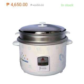 Repriced! 50% off Hanabishi rice cooker
