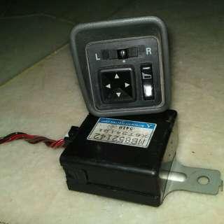 Auto flip switch & relay wira satria