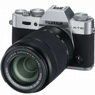Fujifilm XC 50-230mm f/4.5-6.7 OIS II Lens Black