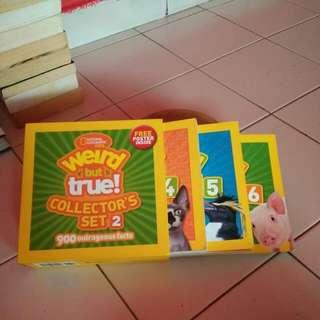 Nat geo Weird But True collector's set 2