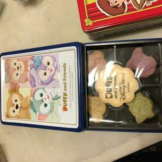 東京廸士尼Duffy and friends cookies disneyland