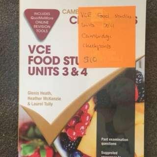 VCE Food Studies
