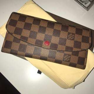 Authentic Louis Vuitton Emilie Wallet