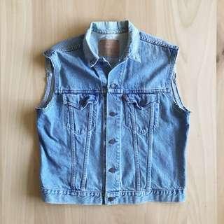 Vintage Levi's Cut-Off Vest