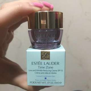 Estée Lauder Time Zone Line And Wrinkle Reducing Creme SPF15 5ml