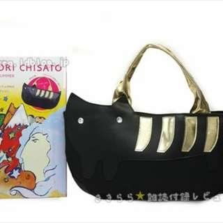 tsumori chisato 貓咪圖案手挽袋 (Tote Bag) ~ 🇯🇵日本雜誌附錄袋
