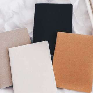 4pcs Blank Notebook