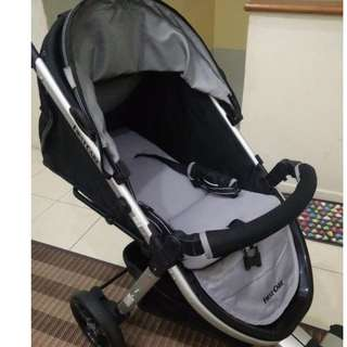 First Care (Black & Grey) Stroller