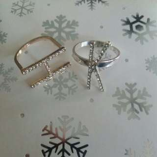 K and H rings