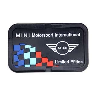 Mini Cooper Anti Slip Mat And Phone Holder
